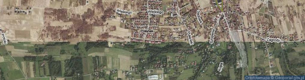 Zdjęcie satelitarne Pileckich ul.