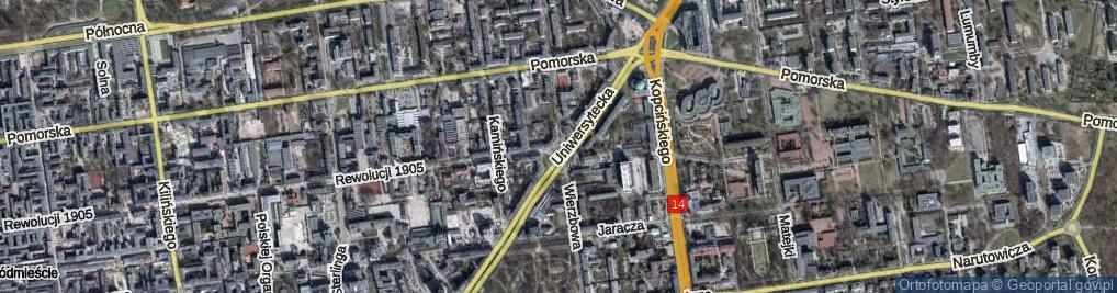 Zdjęcie satelitarne Plac Pokoju pl.