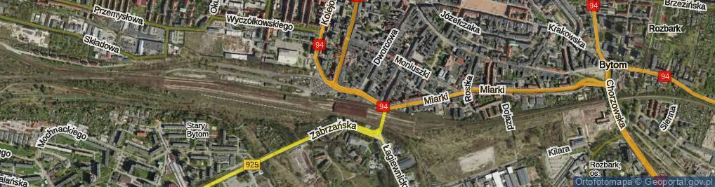 Zdjęcie satelitarne Plac Wolskiego Michała pl.