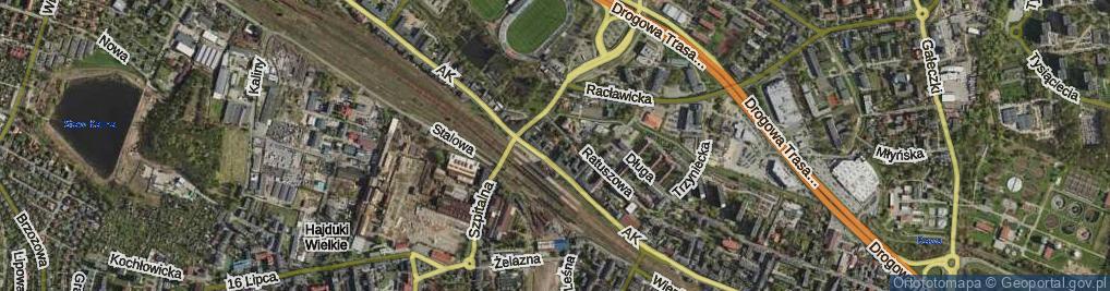 Zdjęcie satelitarne Plac Waryńskiego Ludwika pl.