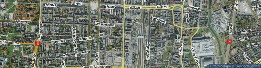 Zdjęcie satelitarne Plac Rady Europy pl.