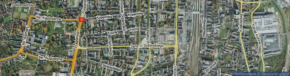 Zdjęcie satelitarne Plac Pamięci Narodowej pl.