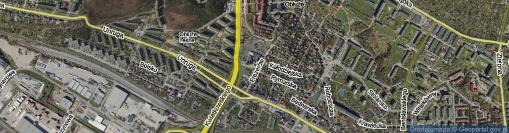 Zdjęcie satelitarne Plac św. Andrzeja pl.