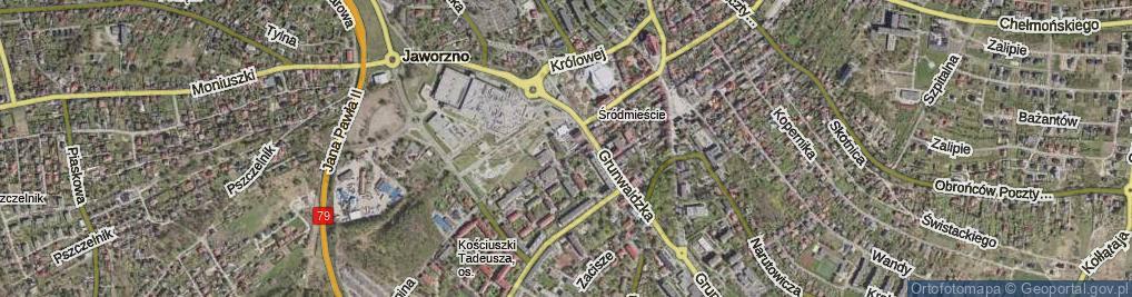 Zdjęcie satelitarne Plac Górników pl.