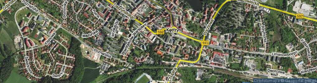 Zdjęcie satelitarne Plac Armii Krajowej pl.