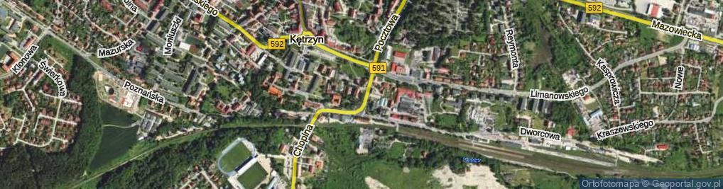 Zdjęcie satelitarne Plac Zesłańców Sybiru pl.