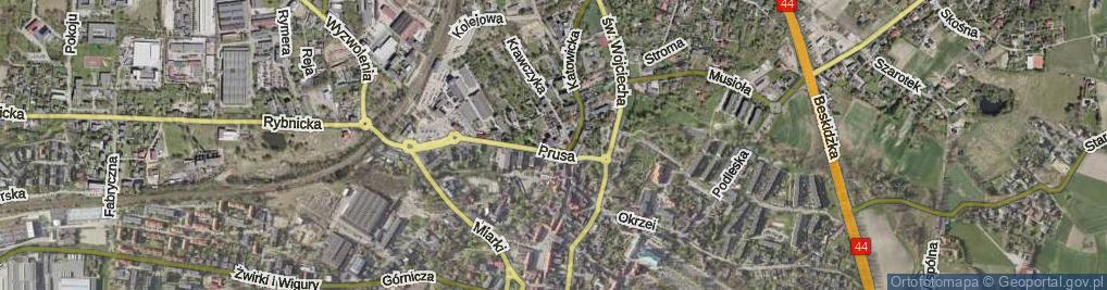Zdjęcie satelitarne Plac Karpeckiego Jana, ks. pl.