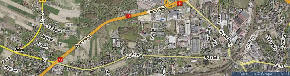 Zdjęcie satelitarne Plac Salwatorianów pl.