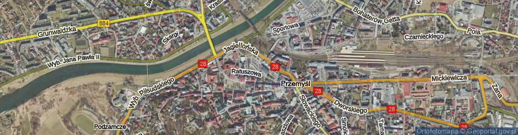 Zdjęcie satelitarne Plac Joselewicza Berka, płk. pl.