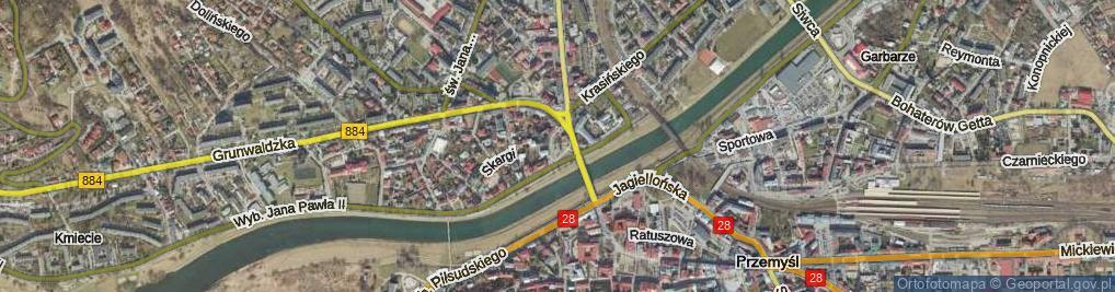 Zdjęcie satelitarne Plac Orląt Przemyskich pl.