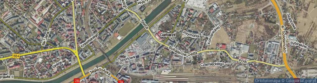 Zdjęcie satelitarne Plac św. Floriana pl.