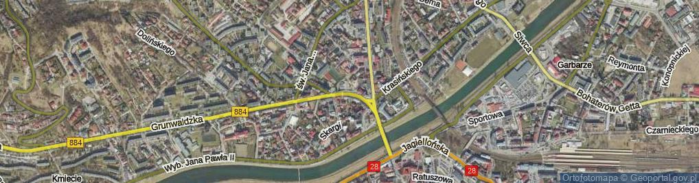 Zdjęcie satelitarne Plac Unii Brzeskiej pl.