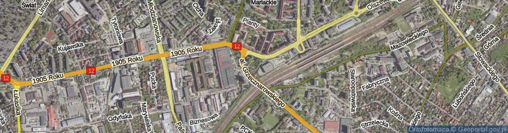 Zdjęcie satelitarne Plac Ołdakowskiego Kazimierza pl.
