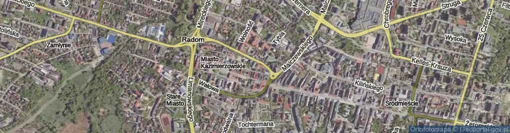 Zdjęcie satelitarne Plac Reformacji pl.