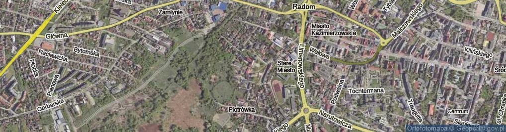 Zdjęcie satelitarne Plac Stare Miasto pl.