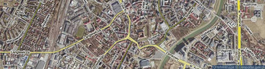 Zdjęcie satelitarne Plac Śreniawitów pl.