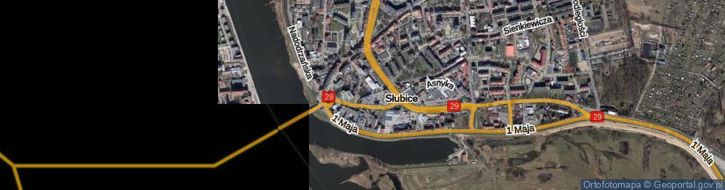 Zdjęcie satelitarne Plac Frankfurcki pl.