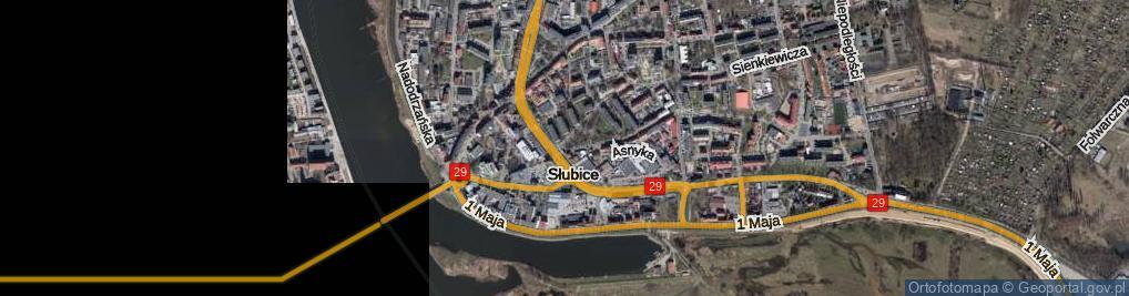 Zdjęcie satelitarne Plac Sybiraków pl.