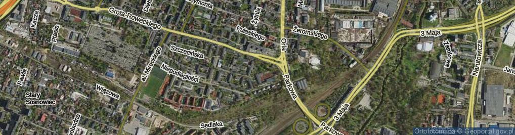 Zdjęcie satelitarne Plac Zillingera Waldemara pl.