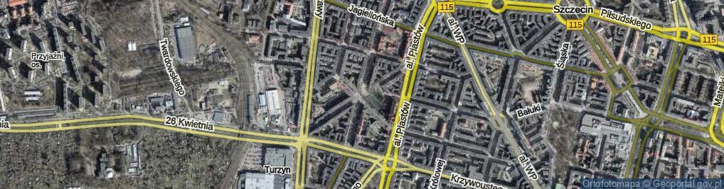 Zdjęcie satelitarne Plac Tarnowskiej Marii pl.