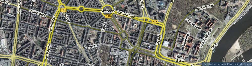 Zdjęcie satelitarne Plac Lotników pl.