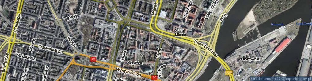Zdjęcie satelitarne Plac Mariacki pl.