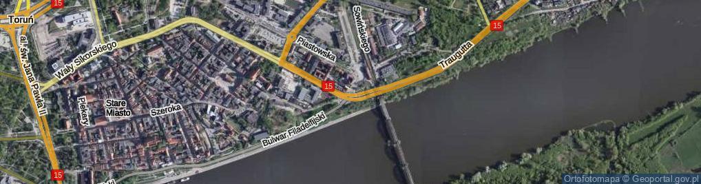 Zdjęcie satelitarne Plac 18 Stycznia pl.