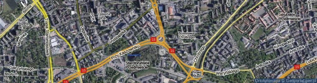 Zdjęcie satelitarne Plac Chrapka Jana, bp. pl.