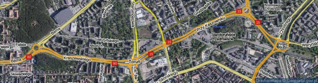 Zdjęcie satelitarne Plac Naczelnej Organizacji Technicznej pl.