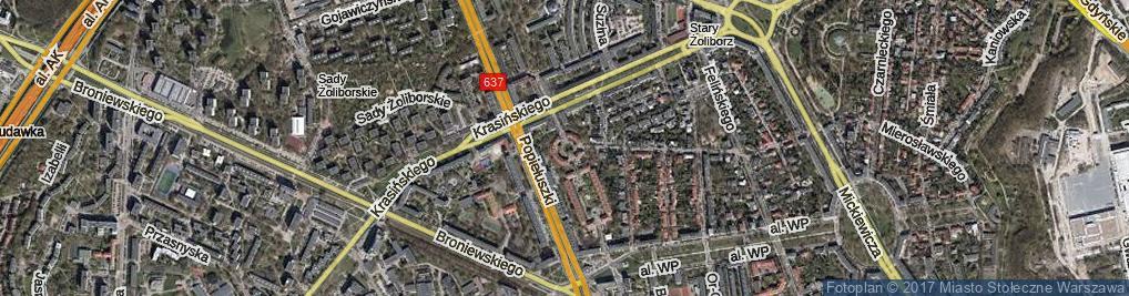 Zdjęcie satelitarne Plac Henkla Dionizego pl.