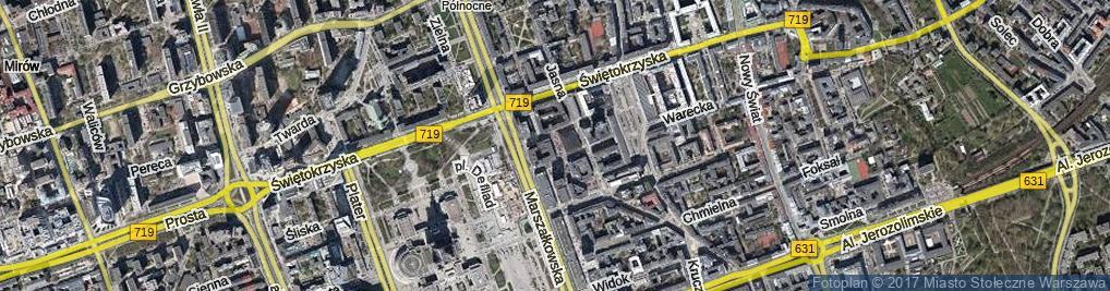 Zdjęcie satelitarne Plac Młynarskiego Emila pl.
