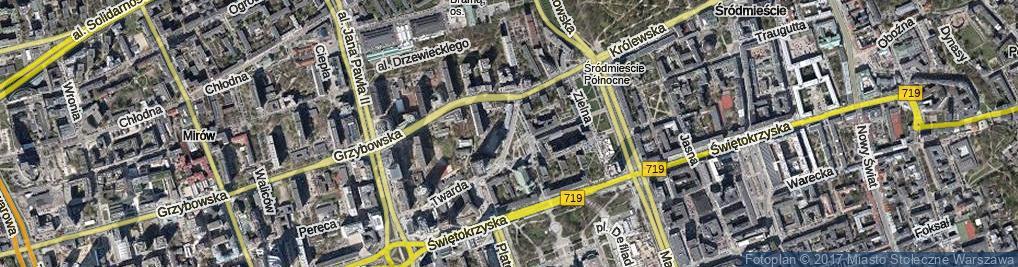 Zdjęcie satelitarne Plac Grzybowski pl.