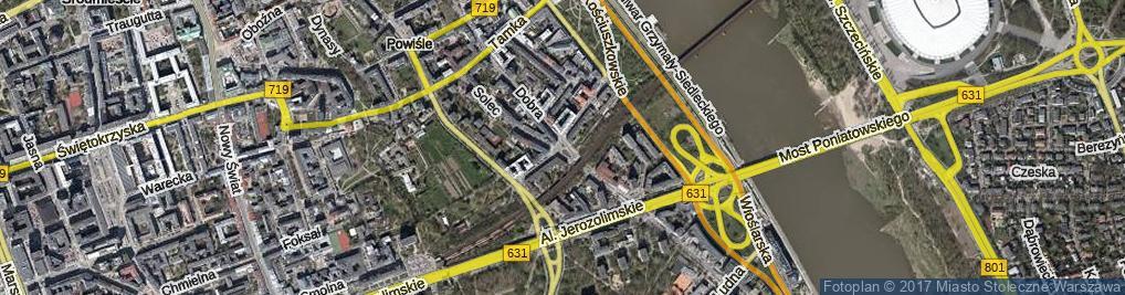 Zdjęcie satelitarne Plac Wóycickiej Zofii pl.