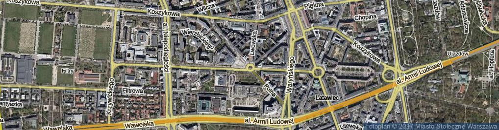 Zdjęcie satelitarne Plac Politechniki pl.