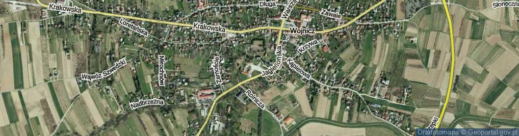 Zdjęcie satelitarne Plac Pola Archidiakonów Wojnickich pl.