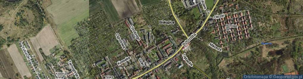 Zdjęcie satelitarne Plac Hutniczy pl.