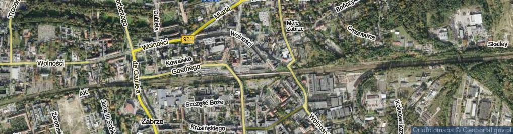 Zdjęcie satelitarne Plac Dworcowy pl.