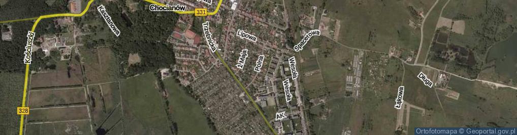 Zdjęcie satelitarne Polna ul.