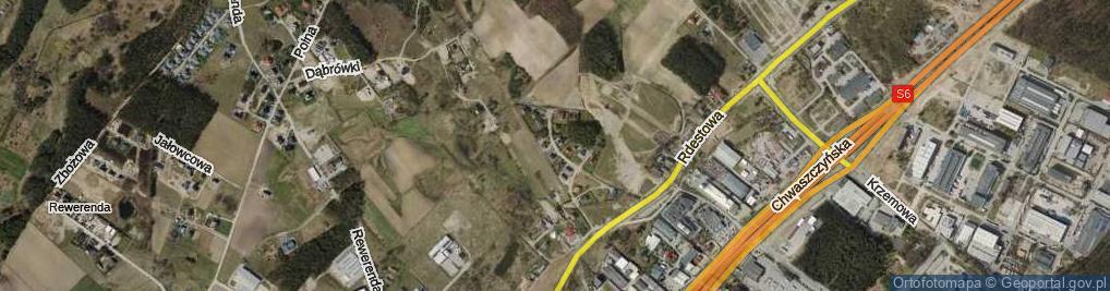 Zdjęcie satelitarne Pomianowskiego Karola ul.
