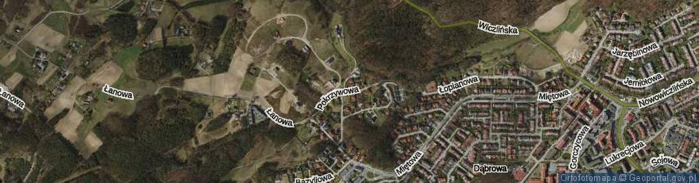 Zdjęcie satelitarne Pokrzywowa ul.