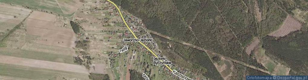 Zdjęcie satelitarne Podlaska ul.