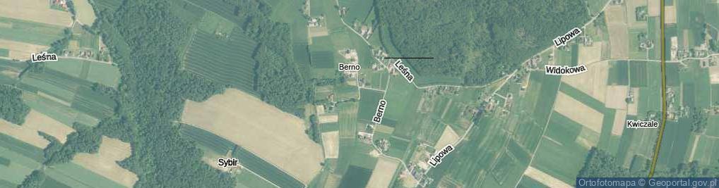 Zdjęcie satelitarne Pogodna ul.