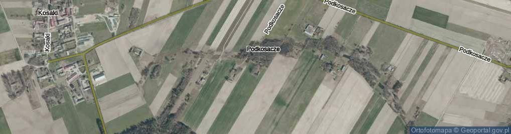 Zdjęcie satelitarne Podkosacze ul.