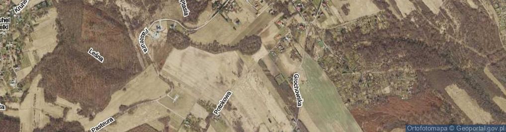 Zdjęcie satelitarne Potokowa ul.