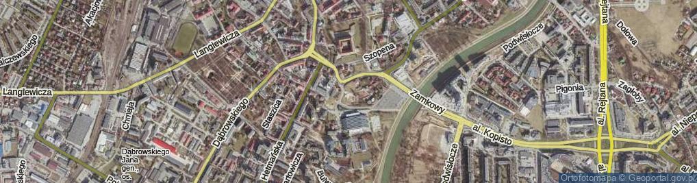 Zdjęcie satelitarne Podpromie ul.