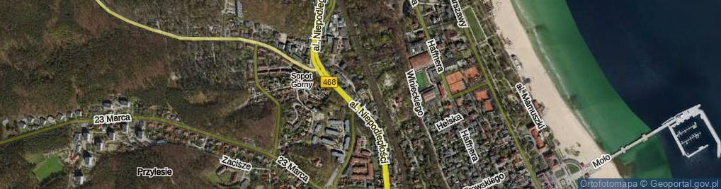 Zdjęcie satelitarne Pokorniewskiego Tomasza ul.
