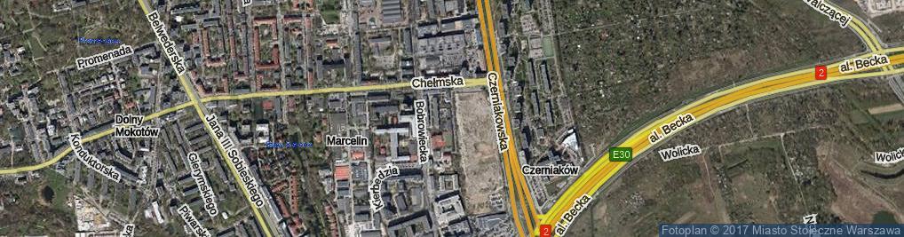 Zdjęcie satelitarne Polkowska ul.