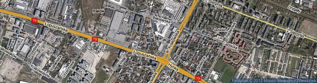 Zdjęcie satelitarne Podborska ul.