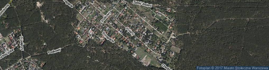 Zdjęcie satelitarne Polany ul.