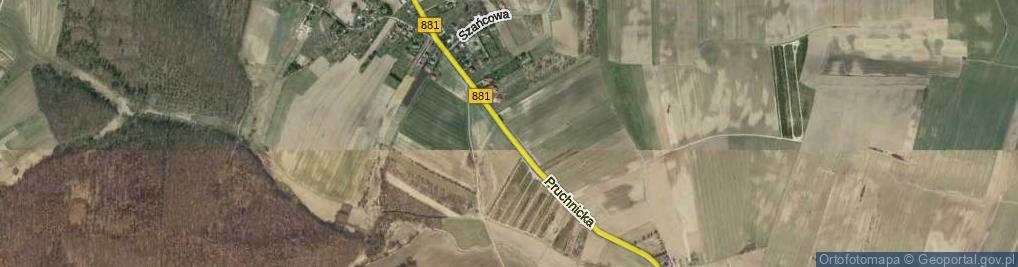 Zdjęcie satelitarne Pruchnicka ul.